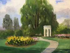 Huntington Rose Garden Temple of Love