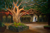 Scottsdale wedding of Stacey and Todd custom commissioned oil painting