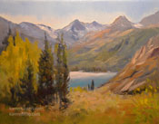 South Lake Bishop art landscape oil painting Sierras