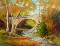 Autumn Enchantment Flint Canyon Trail Berkshire Bridge La Canada Flintridge
