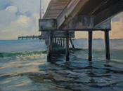 Belmont Shore Pier Painting