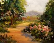 descanso rosarium painting