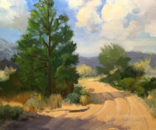 High Desert Breeze Hemet Pinon Cove Highway 74 Idyllwild landscape juniper pine scene