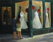 When You Find the One - MaryLinns Bridal Shop Pasadena wedding dress painting