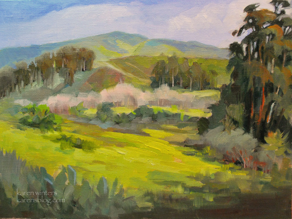 Mark Brown Oil Painting Australia