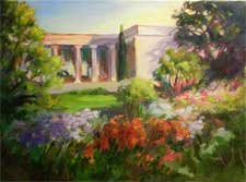 Huntington Gardens Dawn - Scott Gallery