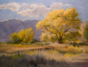 Sierra Breezes, Bishop oil painting