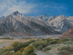 Mt. Whitney Lone Pine Oil Painting Eastern Sierra Nevada